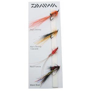 Daiwa Salmon Doubles flugor 4-pack