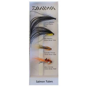 Daiwa Salmon Tubes flugor 4-pack