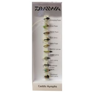 Daiwa Caddis Nymphs flugor 10-pack