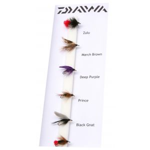 Daiwa Classic Wet Fly Doubles flugor 6-pack