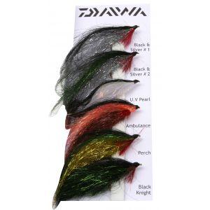 Daiwa Tinsel Streamers flugor 6-pack