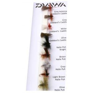 Daiwa Classic Dry Flies flugor 9-pack