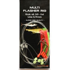 Darts Multi Flasher Rig 1-pack
