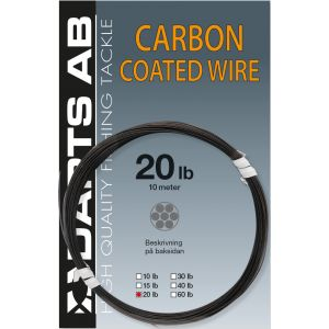 Darts Carbon Coated Wire svart 10 m