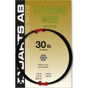 Darts 7-Strand Wire Uncoated 40 lb svart 0.360 mm x 10 m