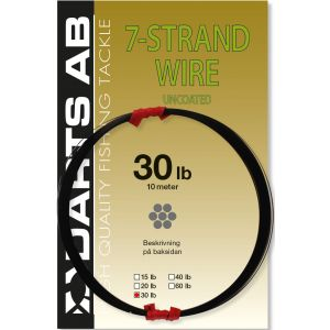 Darts 7-Strand Wire Uncoated svart 10 m