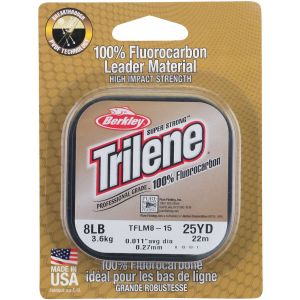 Berkley Trilene 100% Fluorocarbon tafsmaterial clear