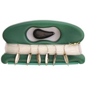 Wiggler Harpa med 250 g sänke & 6-krokar