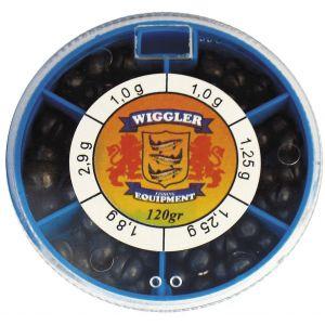 Wiggler ask med blyhagel 120 g stora 1-pack