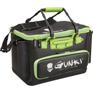 Gunki Safe Edge 40 hård vattentät väska [40 x 26 x 26 cm] svart/grön