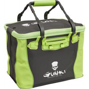 Gunki Sage Edge 36 mjuk vattentät väska [36 x 25 x 26 cm] svart/grön