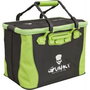 Gunki Sage Edge 40 mjuk vattentät väska [40 x 26 x 28 cm] svart/grön
