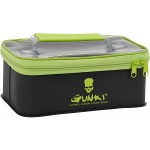 Gunki Safe vattentät väska small [24 x 20 x 9 cm] svart/grön