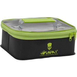 Gunki Safe vattentät väska medium [24 x 14 x 9 cm] svart/grön