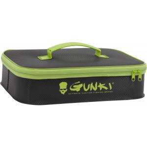Gunki Safe vattentät väska large [36 x 25 x 8 cm] svart/grön