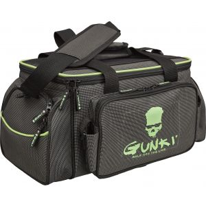 Gunki Iron-T Up-Zander Pro betesväska [33 x 23 x 20 cm] svart/grön