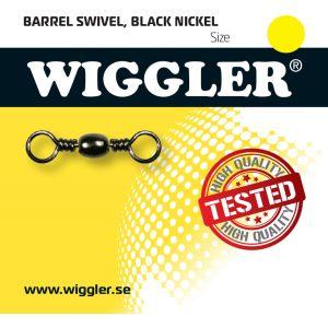 Wiggler Barrel lekande svart