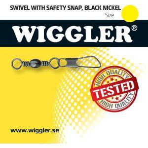 Wiggler Safety beteslås med lekande svart