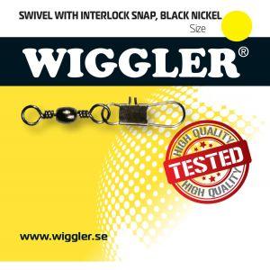 Wiggler Interlock beteslås med lekande svart