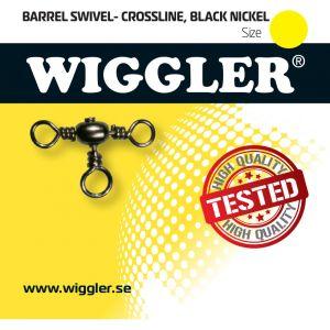 Wiggler Barrel trevägslekande svart