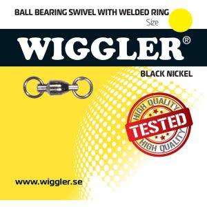 Wiggler kullagerlekande med lödda ringar svart