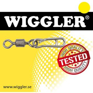 Wiggler Speedy beteslås svart 3-pack