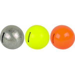 SPRO Spiral blyvikt silver/orange/fluogul 3-pack