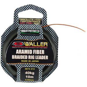SPRO Aramid Fiber Braided 40 kg tafsmaterial 0.500 mm x 10 m