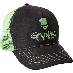 Gunki Trucker keps svart/grön one-size