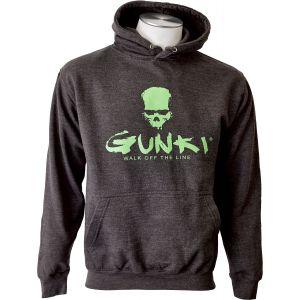 Gunki Darksmoke långärmad huvtröja mörkgrå