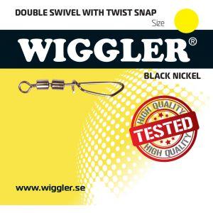 Wiggler Twist beteslås med dubbla lekande silver