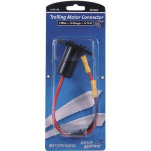 Watersnake 12V elkontakt/snabbkoppling av kablar till elmotor hona