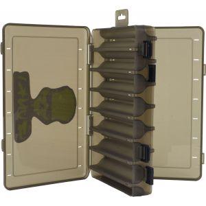 Gunki Plug betesask för jiggskallar [27.5 x 18.5 x 5 cm] rök