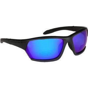 Hurricane Solid polariserade solglasögon svart med revo blå lins
