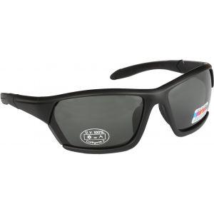 Hurricane Solid polariserade solglasögon svart med grå lins