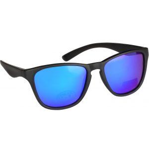 Hurricane Frog polariserade solglasögon svart med revo blå lins