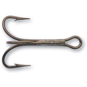 Mustad Pimpel-/trekrok extra lång brons 10, 25-pack