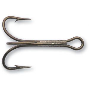 Mustad Pimpel-/trekrok extra lång brons 16, 25-pack