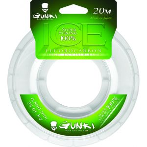 Gunki Ice Fluorocarbon tafsmaterial clear
