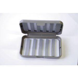 Wiggler flugask [14 x 9.4 x 2.8 cm] grå