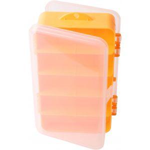 Wiggler dubbelsidig betesask [19 x 11 x 4.6 cm] klar/orange