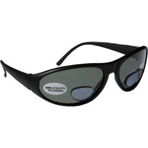 Hurricane Polariserade solglasögon med läslins svart med grå lins