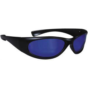 Hurricane Polariserade solglasögon svart med blå lins