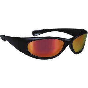 Hurricane Polariserade solglasögon svart med röd lins
