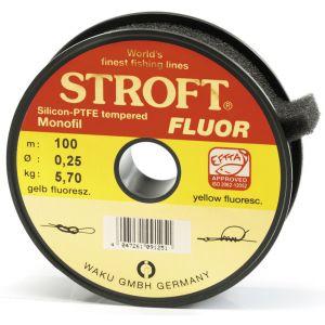 Stroft Fluor Monofilament-lina gul
