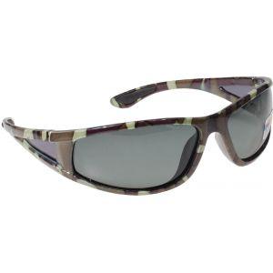 Hurricane Polariserade solglasögon med smal sidolins camo med grå lins