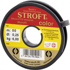 Stroft Color Monofilament-lina röd