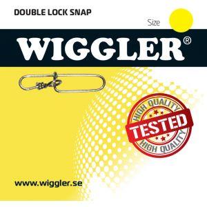 Wiggler Double-Lock beteslås silver