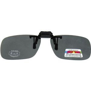 Hurricane Polariserade Clip-On till glasögon grå lins