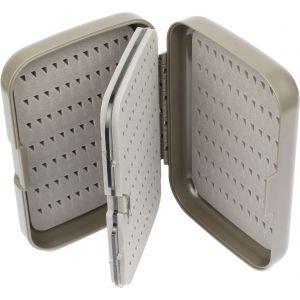 Wiggler flugask med svängbar mellanvägg [12.5 x 8.5 x 3.3 cm] grå